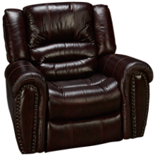 Flexsteel Crosstown Power Leather Recliner