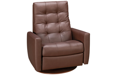 American Leather Como Leather Comfort Air Chair