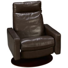 American Leather Cumulus Leather Comfort Air Chair