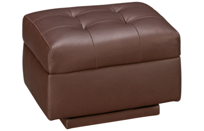American Leather Como Leather Comfort Air Rocking Ottoman
