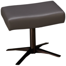 American Leather Stratus Leather Comfort Air Ottoman