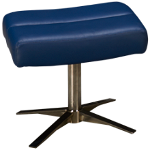 American Leather Cirrus Leather Comfort Air Ottoman