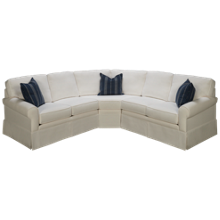 Capris You Design 3 Piece Sectional