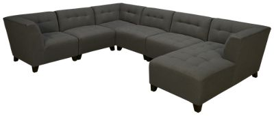 Beau Jonathan Louis Belaire Jonathan Louis Belaire 6 Piece Sectional   Jordanu0027s  Furniture