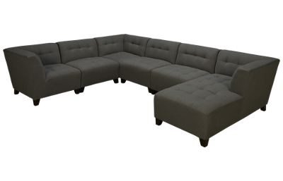 Jonathan Louis Belaire 6 Piece Sectional