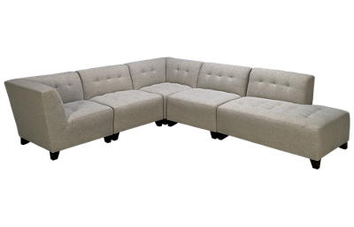 Jonathan Louis Belaire 5 Piece Sectional