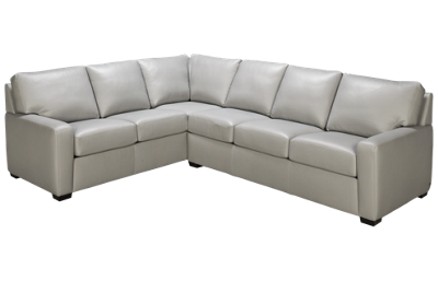 American Leather Carson 2 Piece Sectional