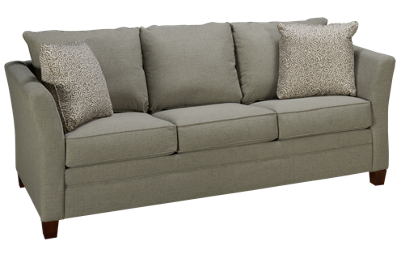 Klaussner Home Furnishings Taylor Queen Sleeper Sofa with Innerspring Mattress