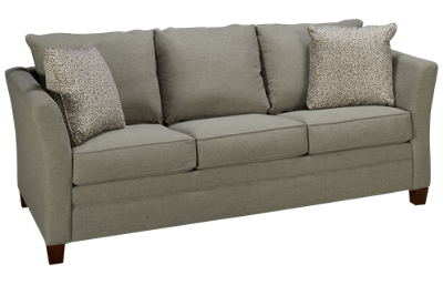 Klaussner Home Furnishings Taylor Queen Sleeper Sofa with Air Mattress