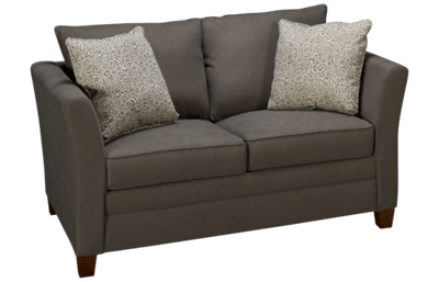 Klaussner Home Furnishings Taylor Twin Sleeper Loveseat with