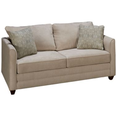 Miraculous Klaussner Home Furnishings Tilly Full Sleeper Loveseat With Innerspring Mattress Bralicious Painted Fabric Chair Ideas Braliciousco