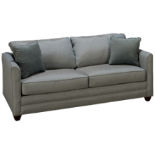Klaussner Home Furnishings Tilly Queen Sleeper Sofa with Innerspring Mattress