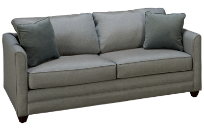Klaussner Home Furnishings Tilly Queen Sleeper Sofa with Memory Foam Mattress