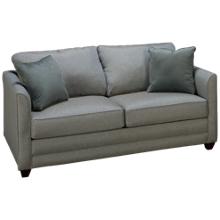 Klaussner Home Furnishings Tilly Full Sleeper Loveseat with Innerspring Mattress