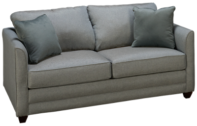 Klaussner Home Furnishings Tilly Full Sleeper Loveseat with