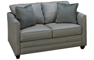 Klaussner Home Furnishings Tilly Twin Sleeper Loveseat with Air Mattress