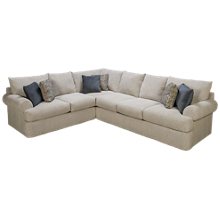 Klaussner Home Furnishings Cora 2 Piece Sectional