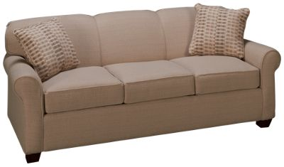 Klaussner Home Furnishings Mayhew Klaussner Home Furnishings Mayhew Queen Sleeper  Sofa With Memory Foam Mattress   Jordanu0027s Furniture