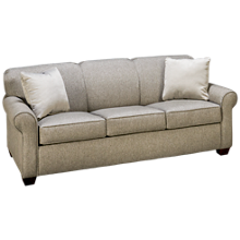 Klaussner Home Furnishings  Mayhew Queen Sleeper Sofa with Innerspring Mattress