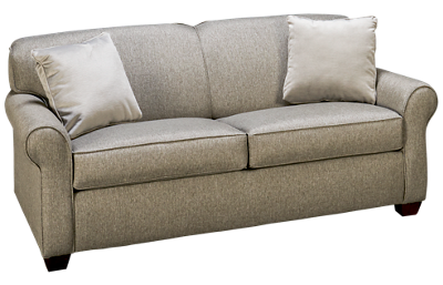 Klaussner Home Furnishings Mayhew Full Sleeper Loveseat with Innerspring Mattress