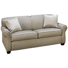 Klaussner Home Furnishings Mayhew Full Sleeper Loveseat with Air Mattress