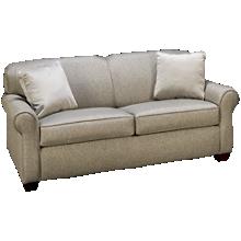 Klaussner Home Furnishings Mayhew Full Sleeper Loveseat with Air Mattress