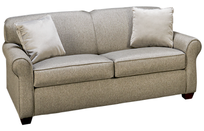 Klaussner Home Furnishings Mayhew Full Sleeper Loveseat with