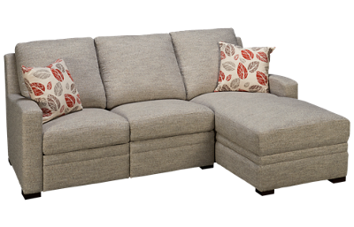 Synergy Sydney Power 2 Piece Reclining Sectional with 2 Recliners