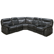 New Classic Home Furnishings Atlas Power 6 Piece Reclining Sectional