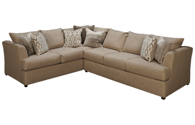 United Oconnor 2 Piece Sectional