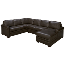 Craftmaster C9-DS 3 Piece Leather Sectional