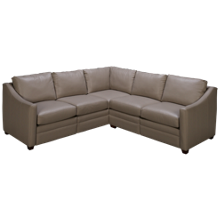 Craftmaster C9-DS Motion Leather Power 2 Piece Reclining Sectional