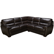 Futura Pacific 2 Piece Leather Sectional