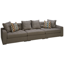Jonathan Louis Noah 3 Piece Sectional