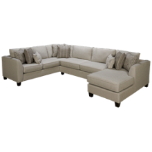 Fusion Furniture Bailey 3 Piece Sectional