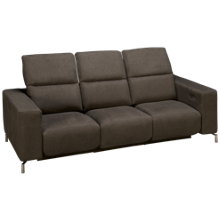 American Leather Julian Leather Power 5 Piece Reclining Sectional with Tilt Headrest