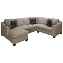 American Furniture Andrew 3 Piece Chaise Sectional