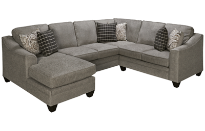 American Furniture Andrew 3 Piece Sectional