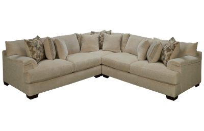 American Furniture Shambala 3 Piece Sectional
