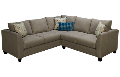 Fusion Furniture Quartz 2 Piece Sectional