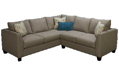 Fusion Furniture Quartz 2 Piece Sectional