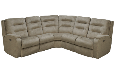 Flexsteel Arlo 5 Piece Power Reclining Sectional with