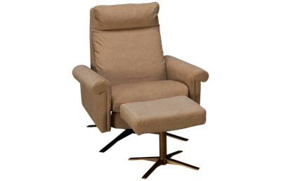 American Leather Nimbus Chair and Ottoman