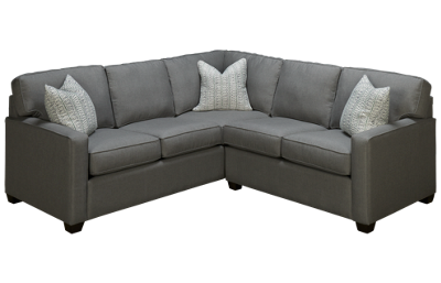 Capris Track Arm 2 Piece Sectional