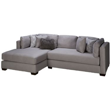 Astonishing American Furniture Parker 2 Piece Chaise Sectional Ocoug Best Dining Table And Chair Ideas Images Ocougorg