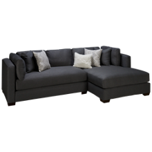 American Furniture Parker 2 Piece Chaise Sectional