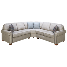 Flexsteel Preston 3 Piece Sectional