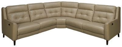 Superb HTL Furniture Charleston HTL Furniture Charleston 3 Piece Leather Power  Reclining Sectional   Jordanu0027s Furniture