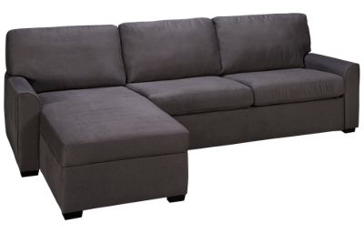 American Leather Klein 2 Piece Queen Sleeper Sectional