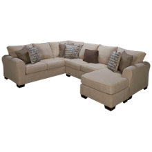 United Boston 2 Piece Sectional